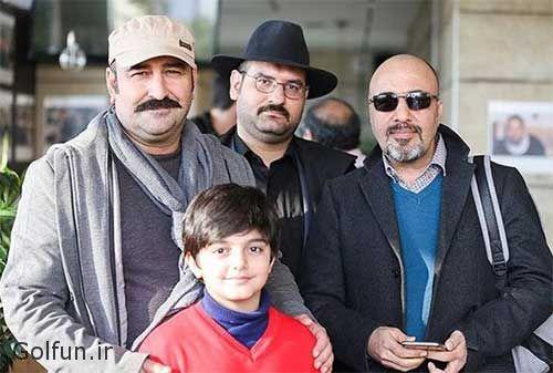 تیپ و مدل لباس بازیگران در مراسم اکران فیلم مصادره مهران احمدی