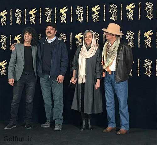 مراسم اکران فیلم کامیون با حضور بازیگرن زن و مرد فیلم به همراه تصاویر